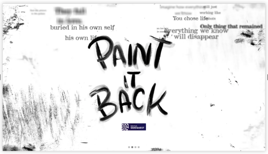 Paint it Backついにリリース!